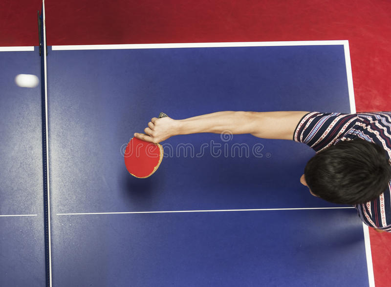 Table Tennis Ping-Pong Sport Activity Concept stock photography