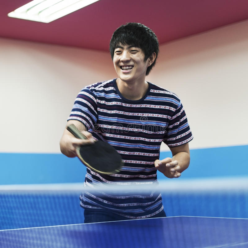 Table Tennis Ping-Pong Sport Activity Concept royalty free stock photo