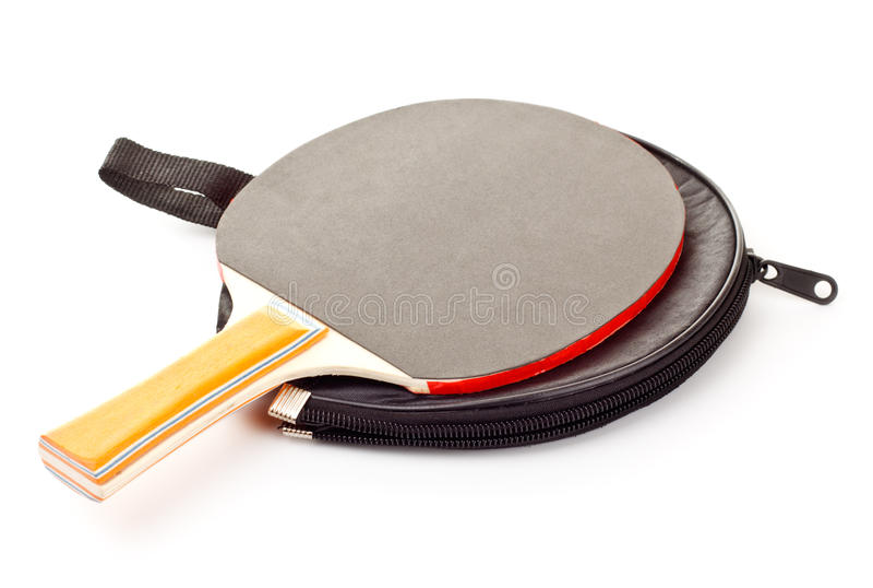Table Tennis Racket Stock Photography
