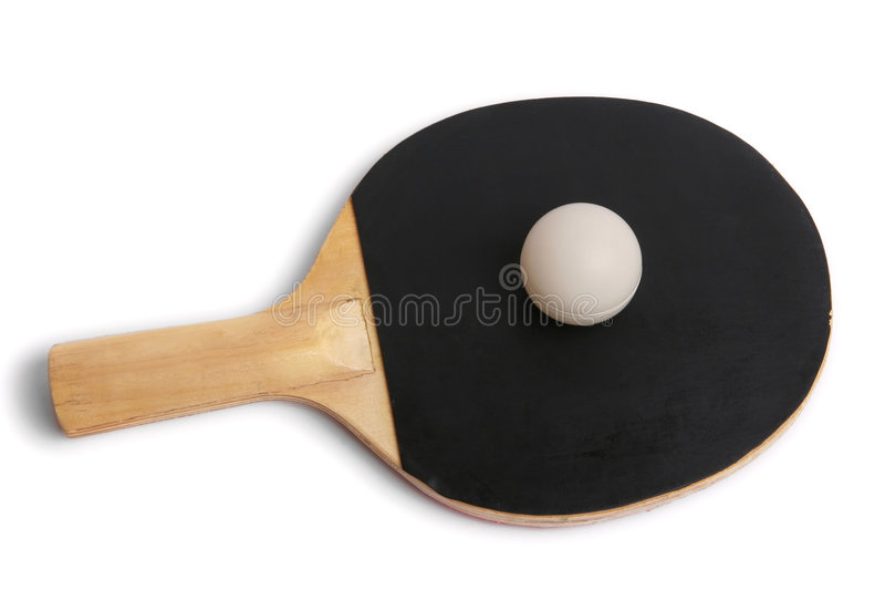 Table Tennis Racket Royalty Free Stock Image