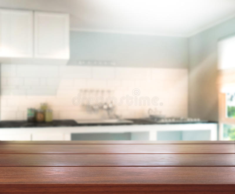 Download Table Top And Blur Interior Background Stock Image - Image of home, display: 52448105