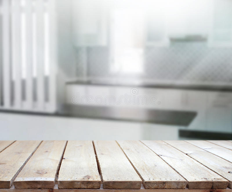 Download Table Top And Blur Interior Background Stock Photo - Image: 54742452