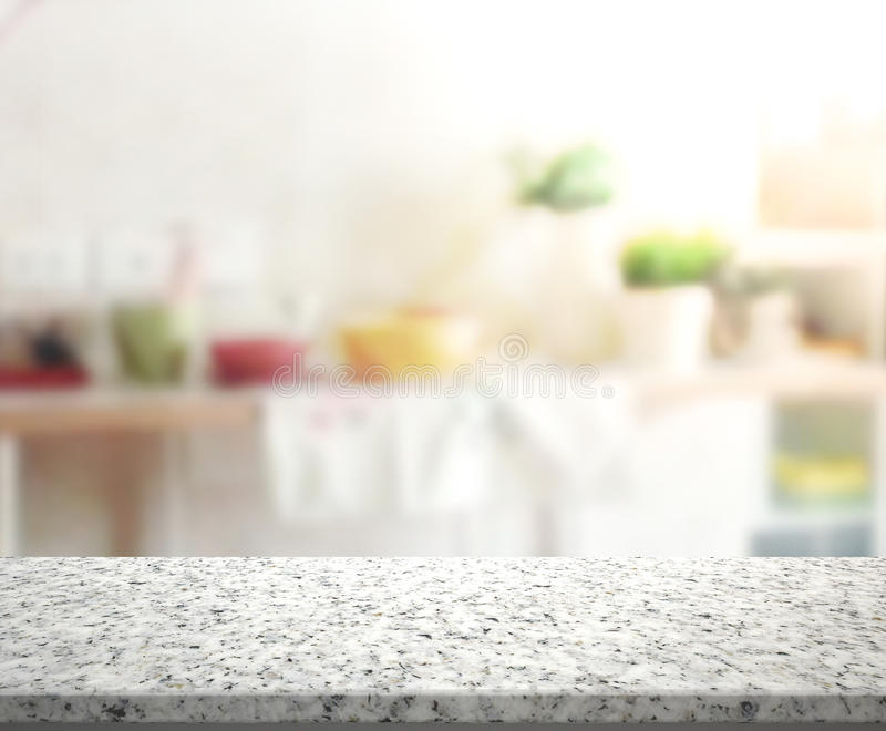 Download Table Top And Blur Interior Background Stock Image - Image: 61233465