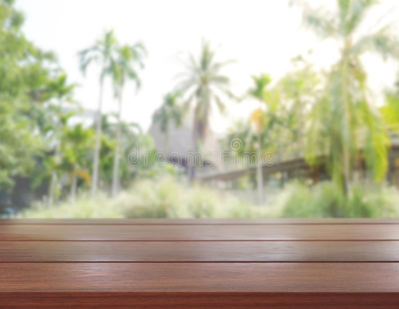 Download Table Top And Blur Nature Of Background Stock Photo - Image of layout, space: 104996086