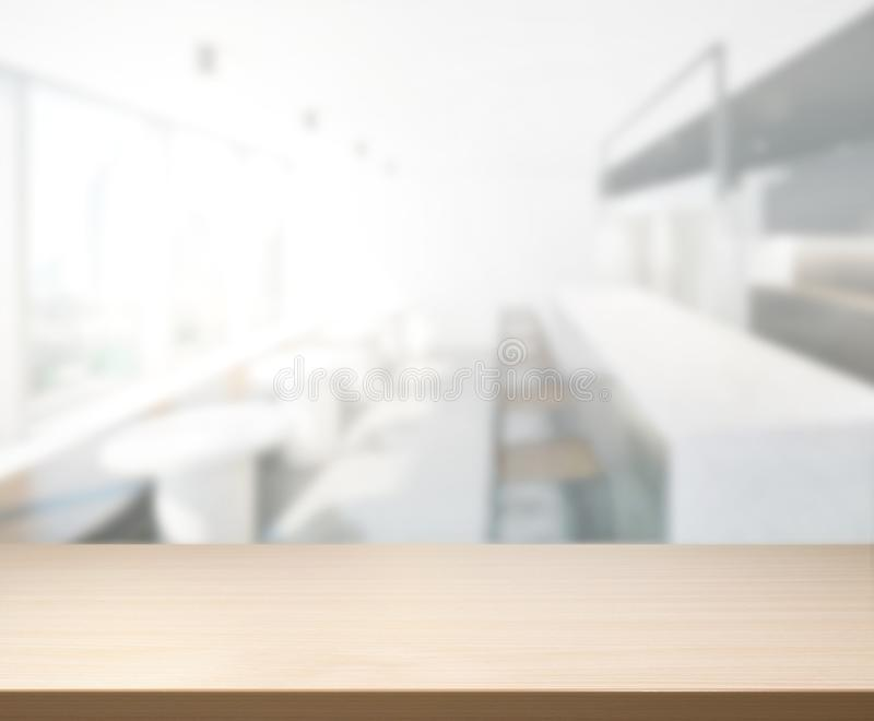 Download Table Top And Blur Office Of Background Stock Image - Image of desk, room: 104996119