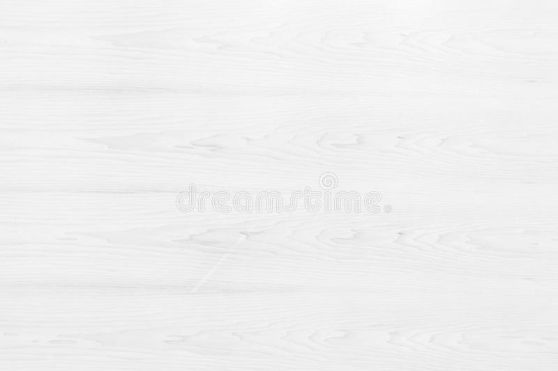 Table top view of wood texture in white light natural color background. Grey clean grain wooden floor birch panel backdrop with royalty free stock images