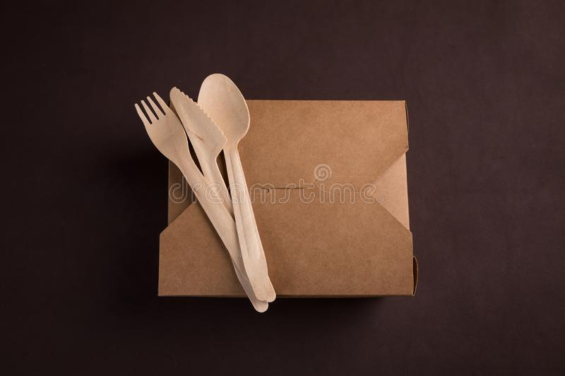 Table ware set royalty free stock photography