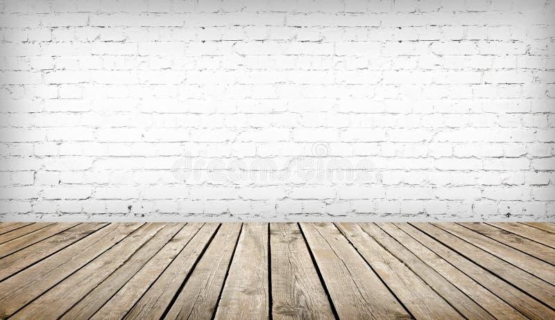 Tableau au-dessus du mur de briques blanc images libres de droits