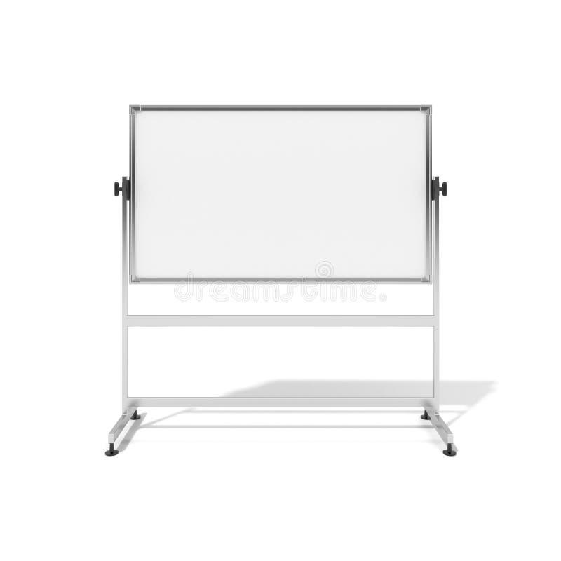 Tableau blanc blanc illustration stock