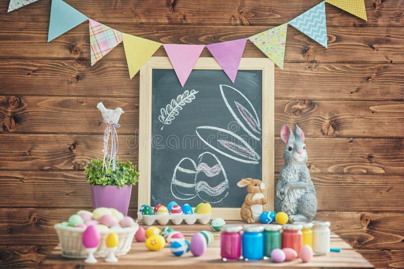 Tableau décorant pour Pâques photographie stock
