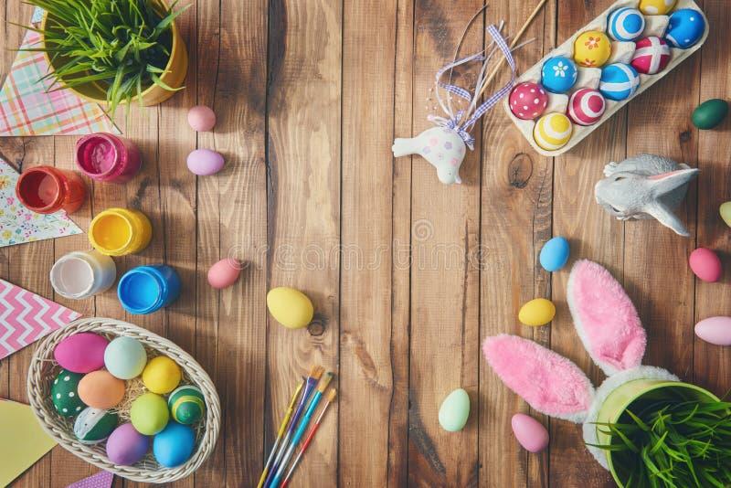 Tableau décorant pour Pâques photographie stock libre de droits