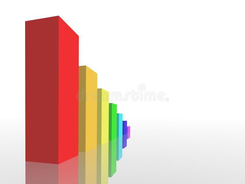 Tableau d'affaires illustration stock