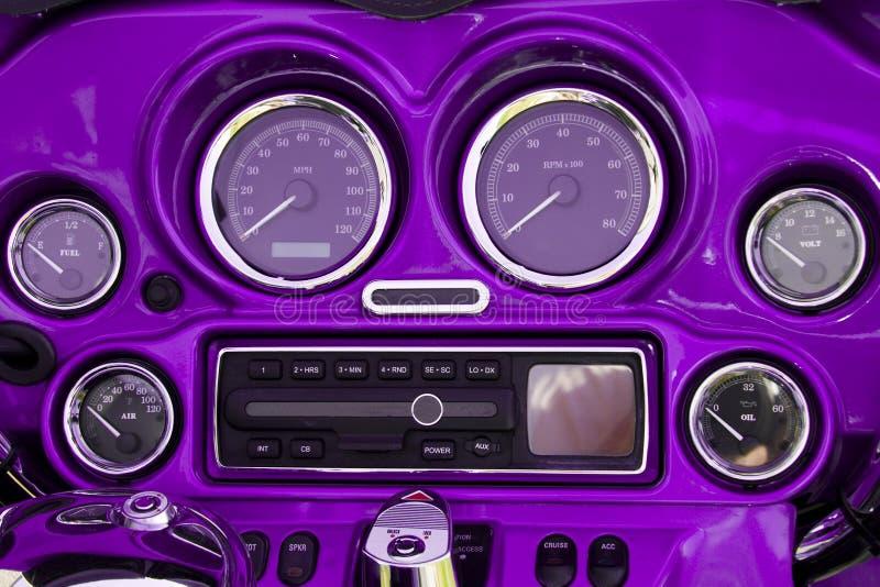 tableau de bord de moto photo stock image du speedometer 2611142. Black Bedroom Furniture Sets. Home Design Ideas