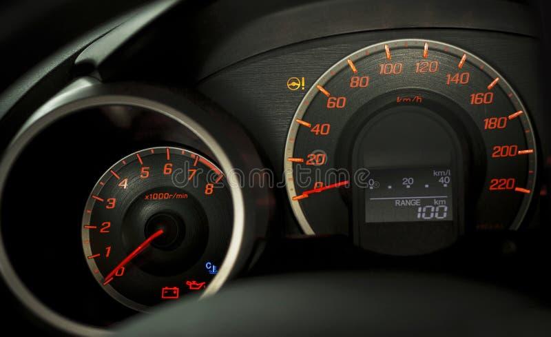 Tableau de bord de véhicule image stock