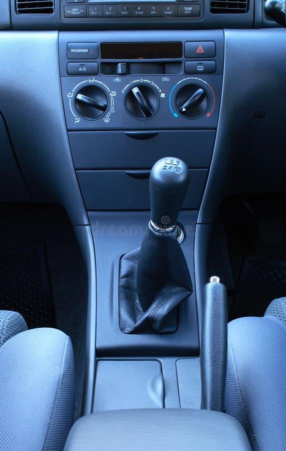Tableau de bord de véhicule photo stock