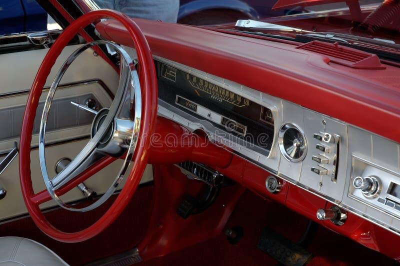Tableau De Bord Rouge Photos stock