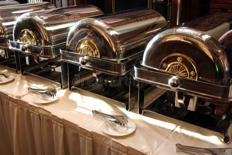 Tableau de buffet approvisionné photographie stock
