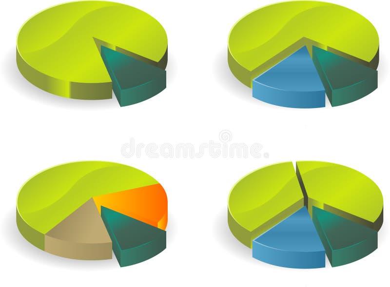 tableau de cercle illustration libre de droits