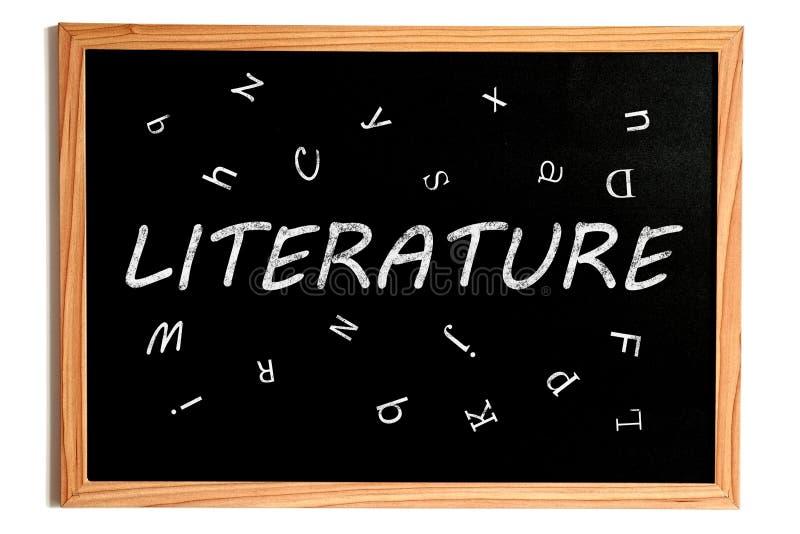 Tableau de littérature illustration libre de droits