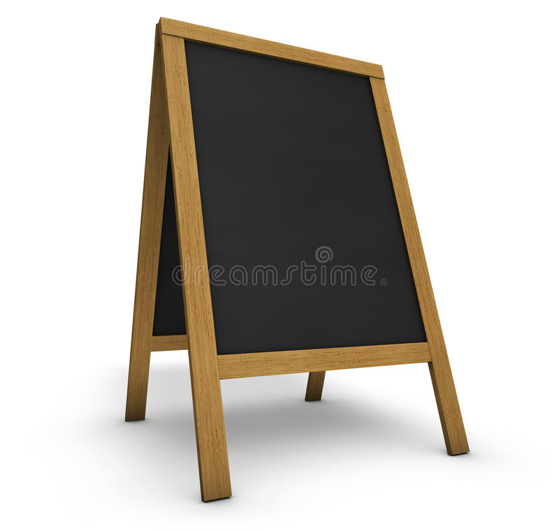 Tableau de menu de restaurant photographie stock