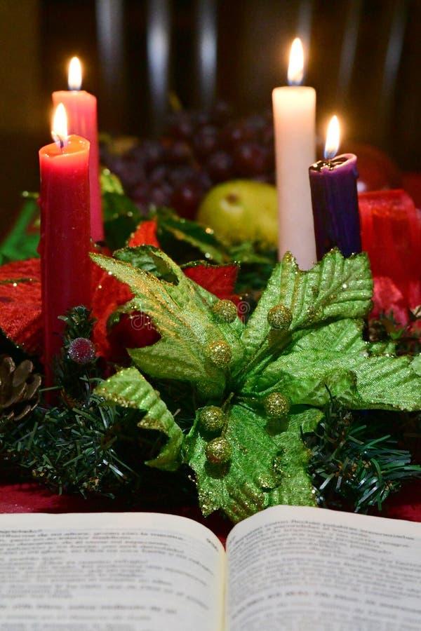 Tableau de Noël à Noël photo libre de droits