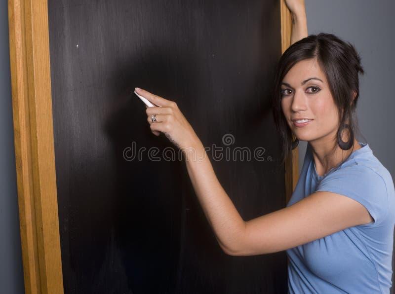 Tableau de professeurs image stock