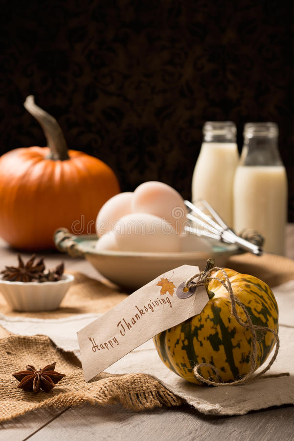 Tableau de thanksgiving images libres de droits