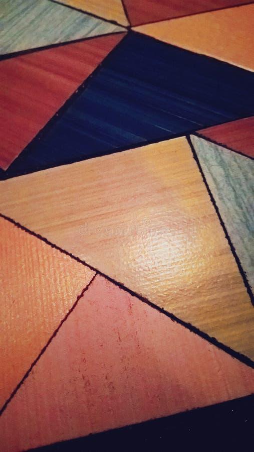Tableau de triangles photographie stock