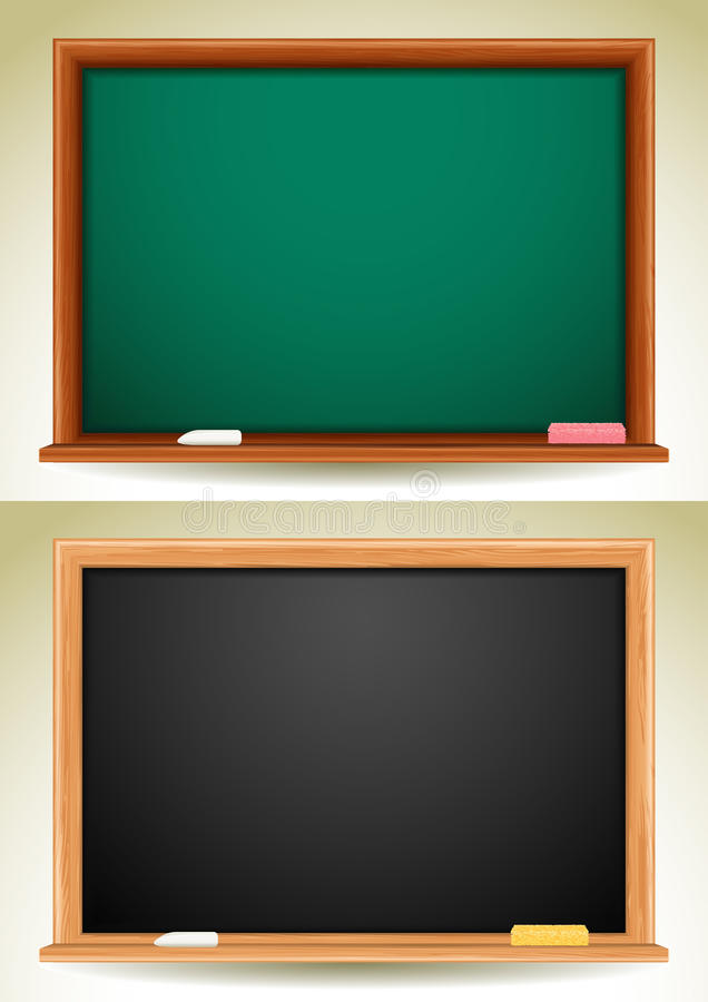 Tableau noir illustration libre de droits