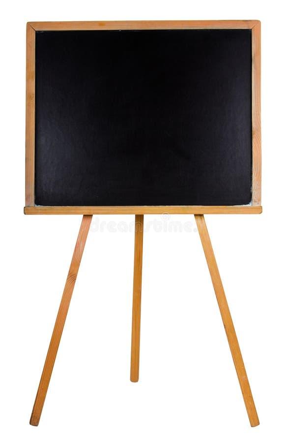 Tableau noir avec collant image libre de droits