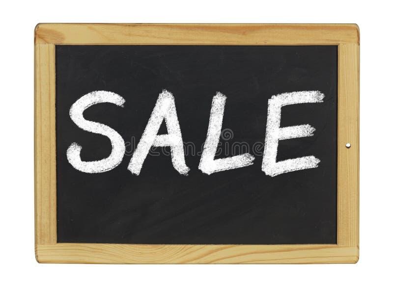 Tableau noir avec la vente image libre de droits