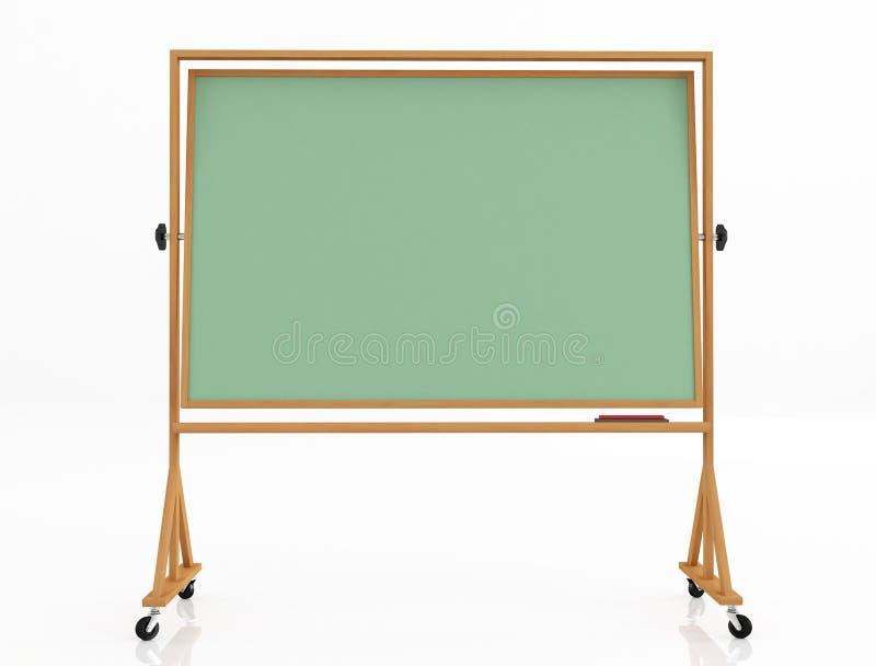 Tableau noir classique vert illustration libre de droits