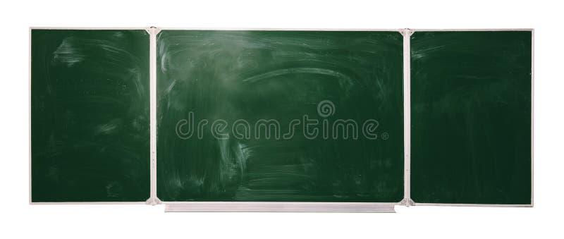 Tableau noir d'isolement sur le fond blanc raillez pour le texte, félicitations, expressions images libres de droits