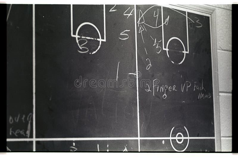 Tableau noir de basket-ball photo stock