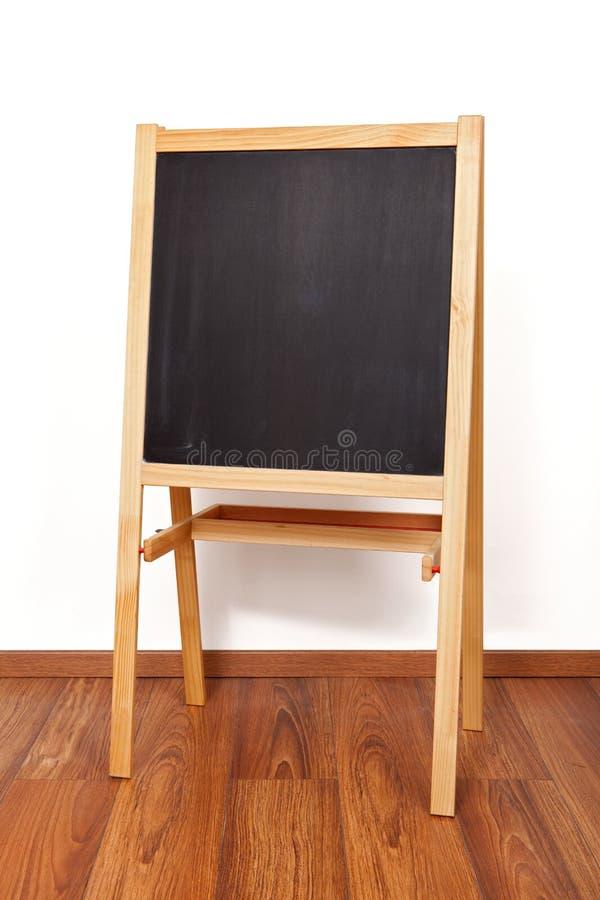 Tableau noir en bois images stock