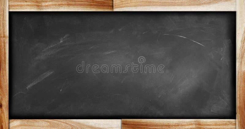 Tableau noir encadré vide photographie stock libre de droits
