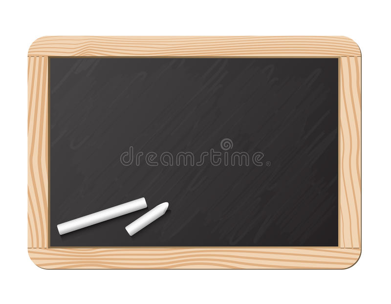 tableau noir et craie illustration de vecteur image du blackboard 10272444. Black Bedroom Furniture Sets. Home Design Ideas