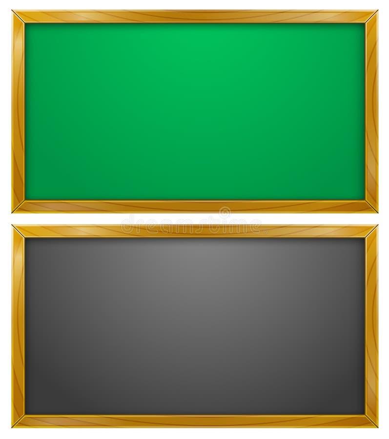 Tableau noir, tableau, éducation illustration stock