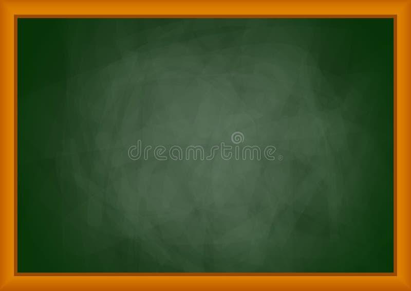 Tableau noir vide illustration de vecteur