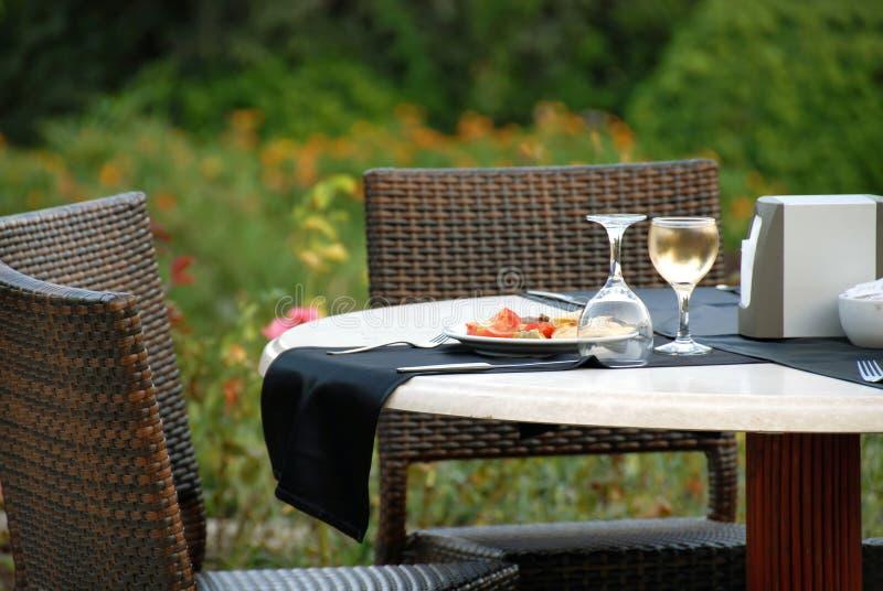 Tableau pour le dîner photo libre de droits