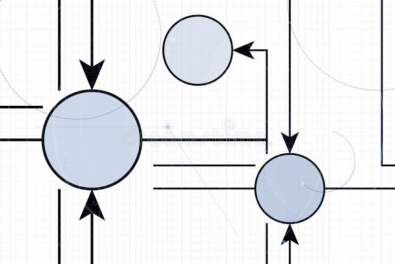 Tableau technique illustration libre de droits
