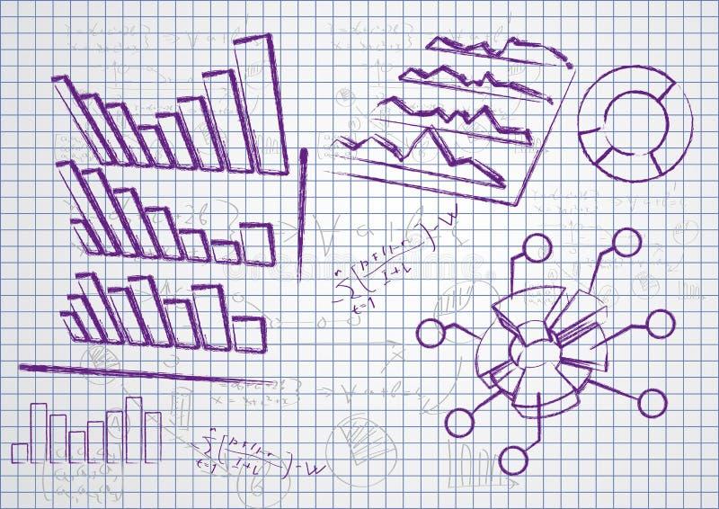 Tableaux d'affaires illustration de vecteur