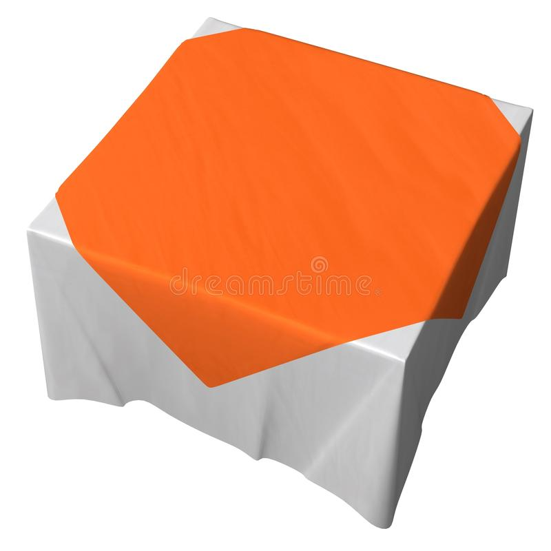 Download Tablecloth stock illustration. Image of tablecloth, illustration - 12609422