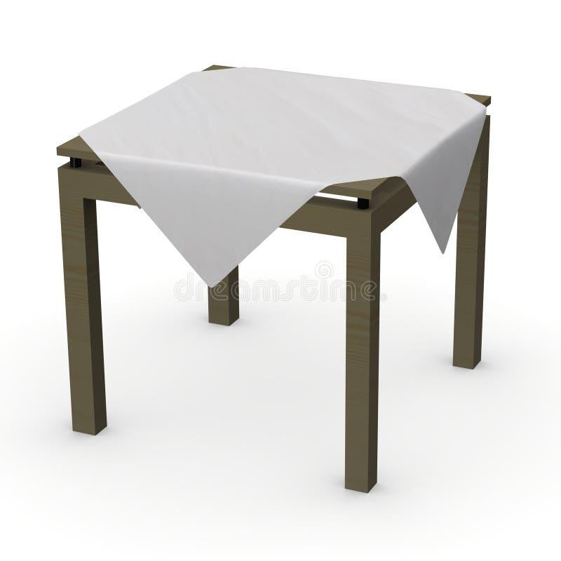 Download Tablecloth stock illustration. Illustration of wedding - 12702393