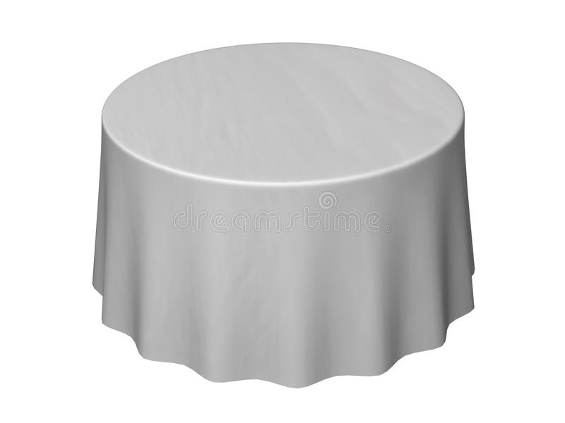 tablecloth stock illustrationer