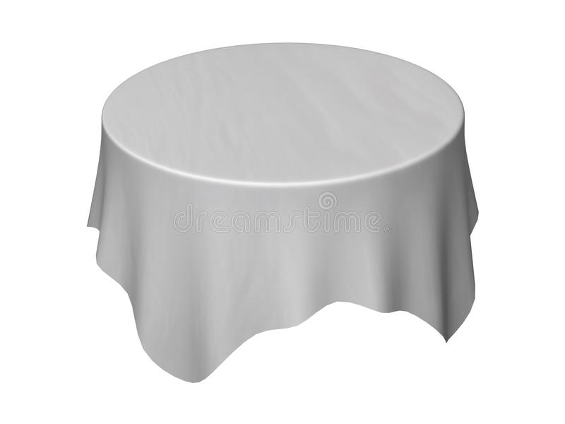 Download Tablecloth stock illustration. Illustration of tablecloth - 12702424