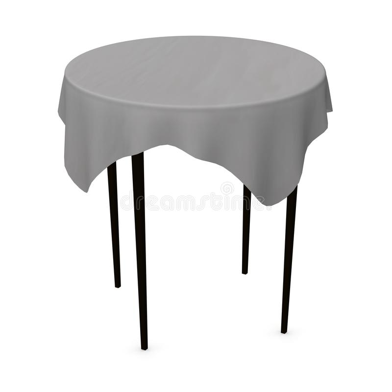 Download Tablecloth stock illustration. Image of eating, square - 12702444