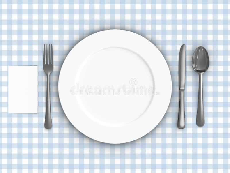 Download Tablecloth stock illustration. Image of kitchenware, ceramic - 14267439