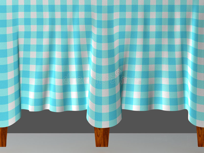 Download Tablecloth stock illustration. Image of fashioned, color - 6810015