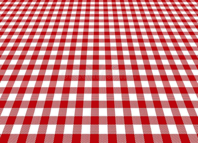 tablecloth royaltyfri illustrationer